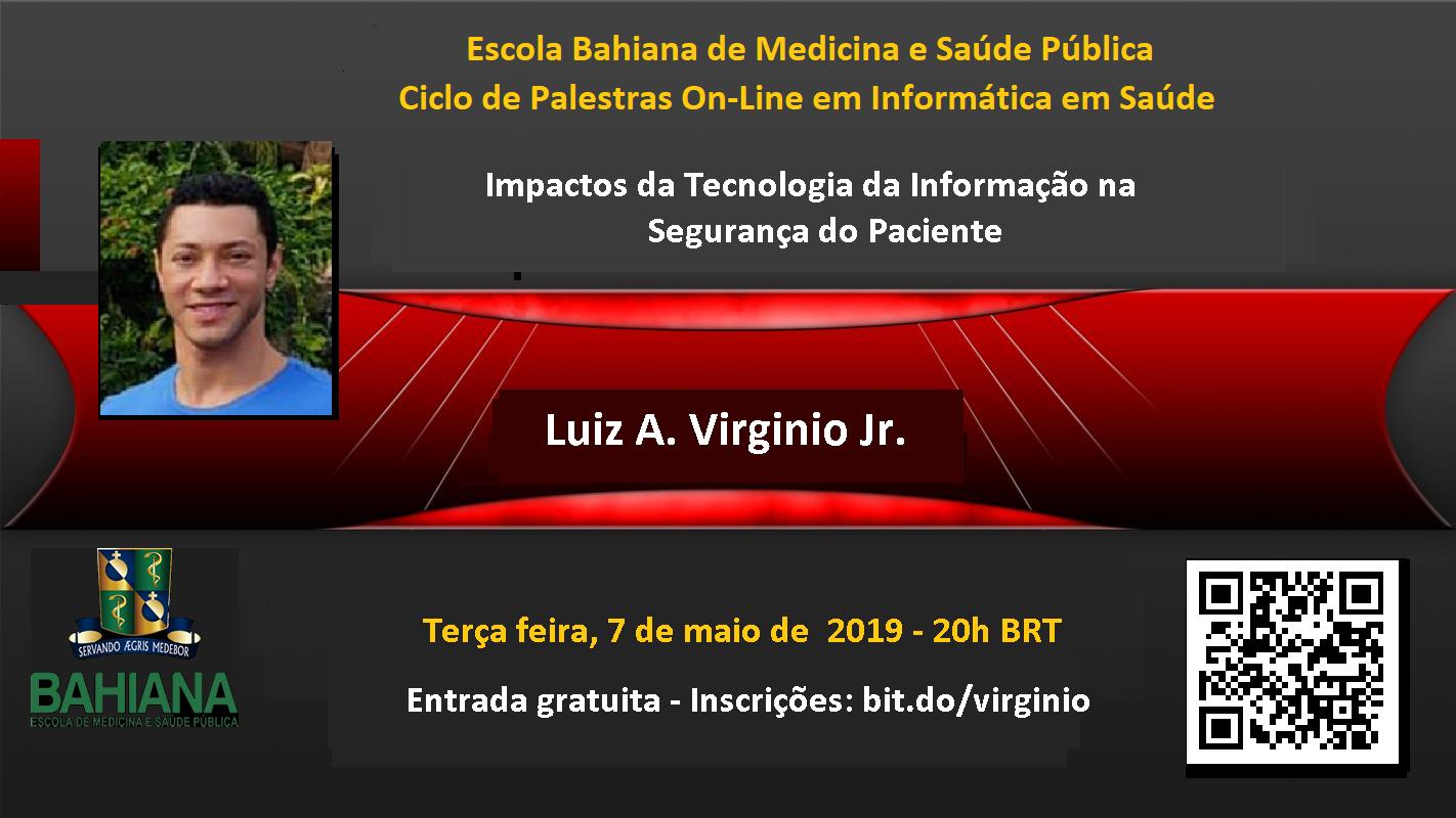 Palestra Luiz Virginio Jr